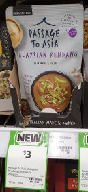 Passage To Asia 200g Simmer Sauce Malaysian Rendang 1