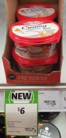 President 125g Dip Cheese Brie