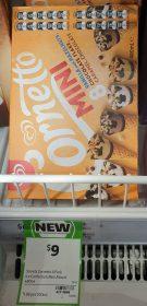 Streets 480mL Cornetto Mini Vanilla Chocolate Flake Caramel Chocolate