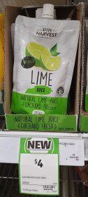 Sun Harvest 200mL Juice Lime 1