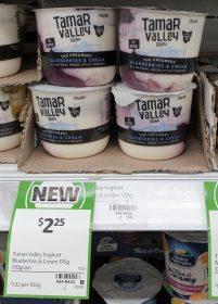 Tamar Valley Dairy 170g Yoghurt Greek Style Blueberries Cream