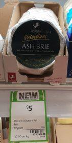 Unicorn 125g Selections Brie Ash 2