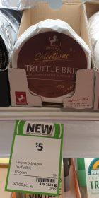 Unicorn 125g Selections Brie Truffle 2