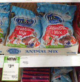 Wow Naturals 500g Animal Mix