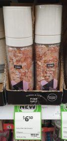 Coles 250g Grinder Pink Salt Himalayan