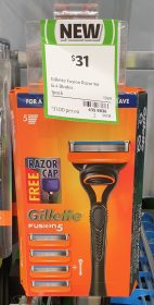 Gillette 1 Pack Fusion 5 Razor Kit