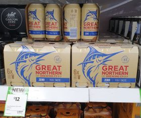 Great Northern Brewing Co 6 X 375mL Cans Zero
