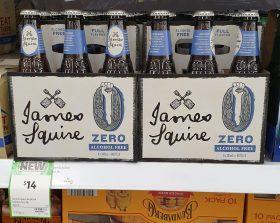 James Squire 6 X 345mL Zero Alcohol Free