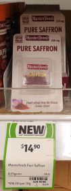 Masterfoods 250mg Saffron Pure