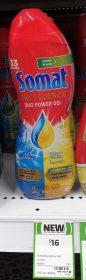 Somat 600mL Excellence Duo Power Gel Lemon Lime