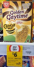Streets 400mL Golden Gaytime Crunchy Nut