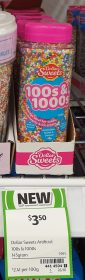 Dollar Sweets 145g 100s 1000s