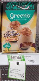 Greens 195g Mousse Mix Golden Gaytime