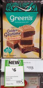 Greens 555g Brownie Mix Golden Gaytime