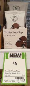 Krumbled Foods 32g Beauty Bites Triple Choc Chip