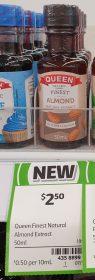 Queen 50mL Extract Almond